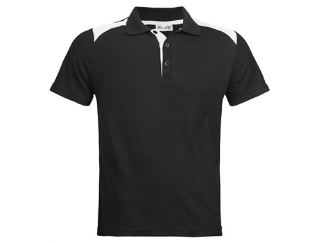 Altitude Mens Apex Golf Shirt in Black Code ALT-APM