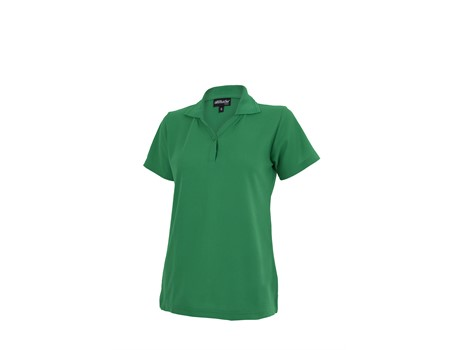 Altitude Clothing Ladies Basic Pique Golf Shirt in Green Code ALT-BBL