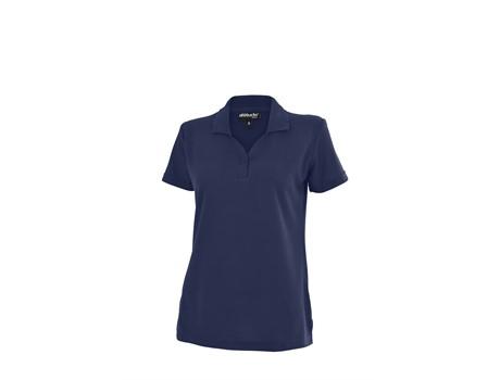 Altitude Basic Pique Ladies Golfer in navy Code ALT-BBL