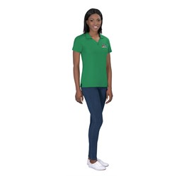 Ladies Basic Pique Golf Shirt