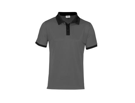 Altitude Mens Bridgewater Golf Shirt in Black Code ALT-BDM