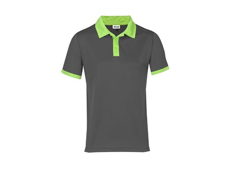 Altitude Mens Bridgewater Golf Shirt in Lime Code ALT-BDM