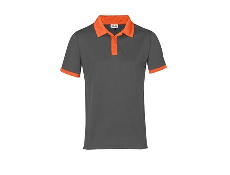 Altitude Mens Bridgewater Golf Shirt in Orange Code ALT-BDM