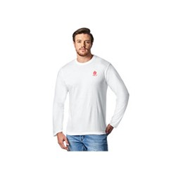 Mens Long Sleeve Basic 180 TShirt