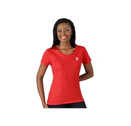 Ladies Short Sleeve Basic 180 TShirt