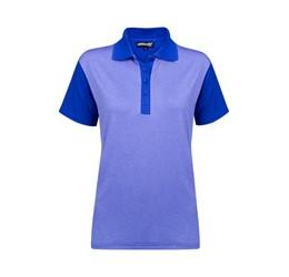 Golfers - Ladies Crossfire Melange Golf Shirt