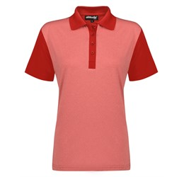 Golfers - Ladies Crossfire Melange Golf Shirt