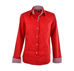 Dallas Blouse  Red Only