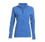 Ladies Energi Micro Fleece Sweater Blue