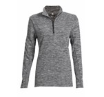 Ladies Energi Micro Fleece Sweater Grey