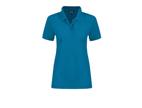 Altitude Clothing Ladies Everyday Golf Shirt in Aqua Code ALT-EVL