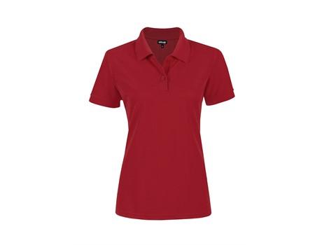 Altitude Clothing Ladies Everyday Golf Shirt in Red Code ALT-EVL