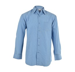 Finlay Long Sleeve Shirt  Sky Blue Only
