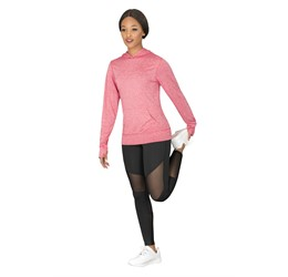 Ladies Fitness Lightweight Hooded Sweater