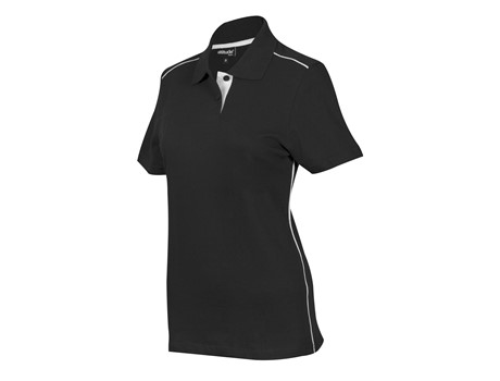Altitude Ladies Galway Golf Shirt in Black Code ALT-GWL