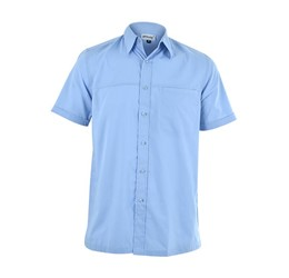 Harry Casual Short Sleeve Shirt  Sky Blue Only