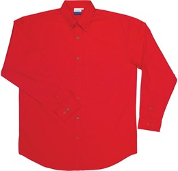 Jeff Long Sleeve Shirt  Red Only