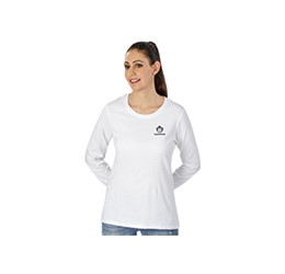 Ladies Long Sleeve Basic 180 TShirt
