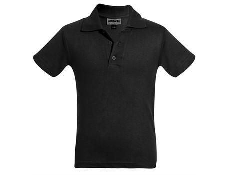 Altitude Kids Michigan Golf Shirt in black Code ALT-MSK