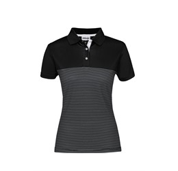 Ladies Maestro Golf Shirt Black