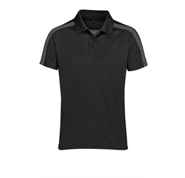 Mens Nautilus Golf Shirt Black
