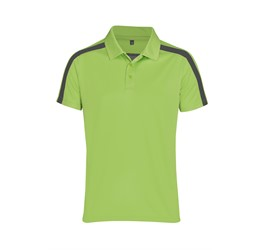 Mens Nautilus Golf Shirt Lime