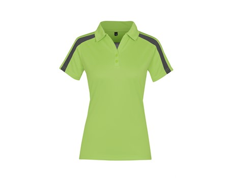 Altitude Ladies Nautilus Golf Shirt in Lime Code ALT-NAL