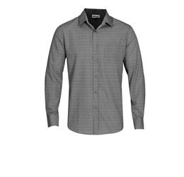 Mens Long Sleeve Northampton Shirt Black