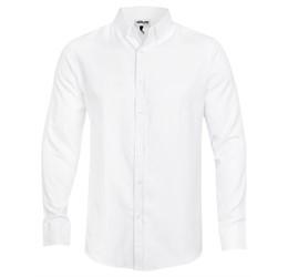 Mens Long Sleeve Nottingham ShirtWhite