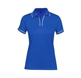Ladies Osaka Golf ShirtRoyal Blue