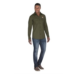 Mens Long Sleeve Oryx Bush Shirt