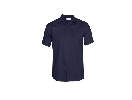 Mens Short Sleeve Seattle Twill Shirt Johannesburg