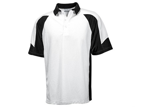Altitude Mens Sydney Golf Shirt in black Code ALT-SYM