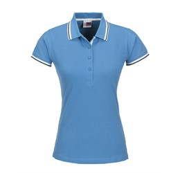 Golfers - Ladies City Golf Shirt  Blue Only