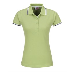 Golfers - Ladies City Golf Shirt  Lime Only