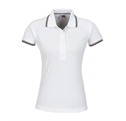 Golfers - Ladies City Golf Shirt  White Only