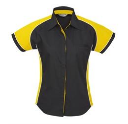 Ladies Nitro Pitt Shirt  Yellow Only