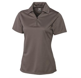 Ladies Genre Golf Shirt  Brown Only