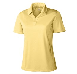 Ladies Genre Golf Shirt  Yellow Only
