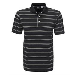 Mens Hawthorne Golf Shirt  Black Only