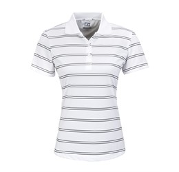 Golfers - Ladies Hawthorne Golf Shirt  White Only
