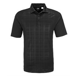 Mens Sullivan Golf Shirt  Black Only