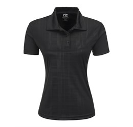 Ladies Sullivan Golf Shirt  Black Only