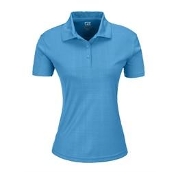 Ladies Sullivan Golf Shirt  Light Blue Only