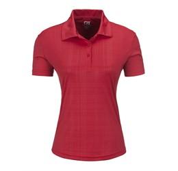 Ladies Sullivan Golf Shirt  Red Only
