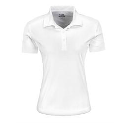 Ladies Sullivan Golf Shirt  White Only