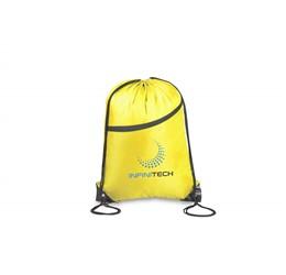 Doubleup Drawstring Bag  Yellow Only