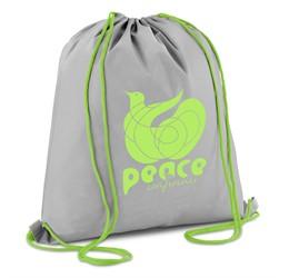 Tupac Drawstring Bag  Lime Only
