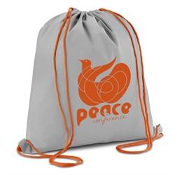 Tupac Drawstring Bag  Orange Only