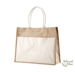 Ecojute Panama Natural Fibre Bag  Natural Only